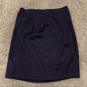 Rebecca Taylor pin striped skirt